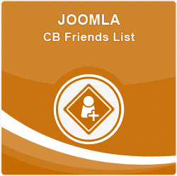 Joomla Community Builder Friends List